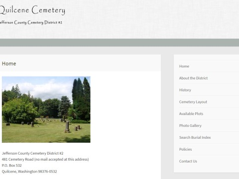 quilcenecemetery.org